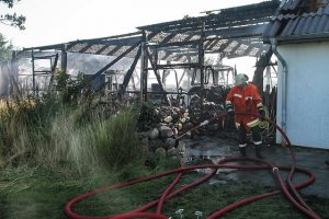 Property in need of fire damage repair services